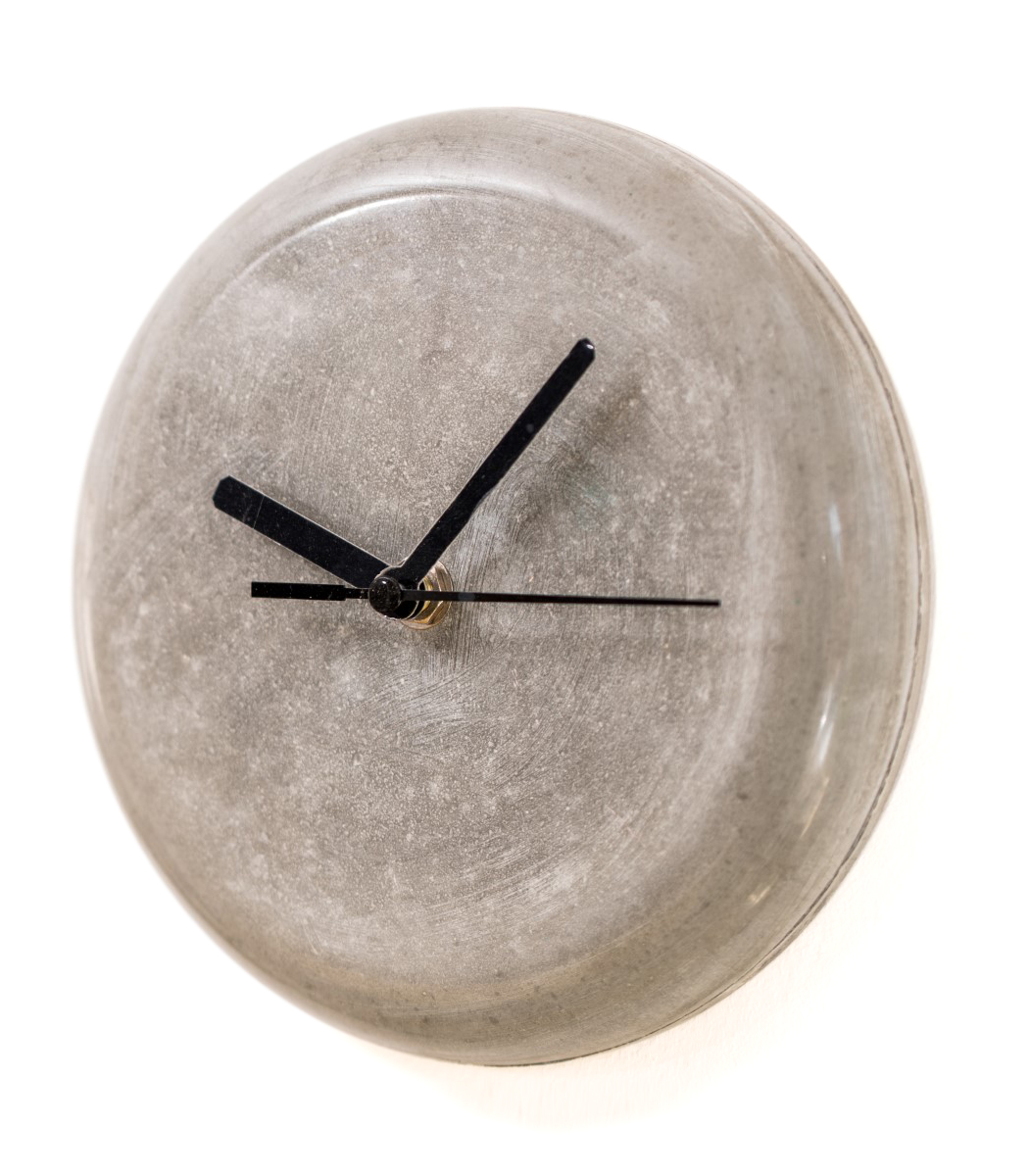 Concrete wall clock 18