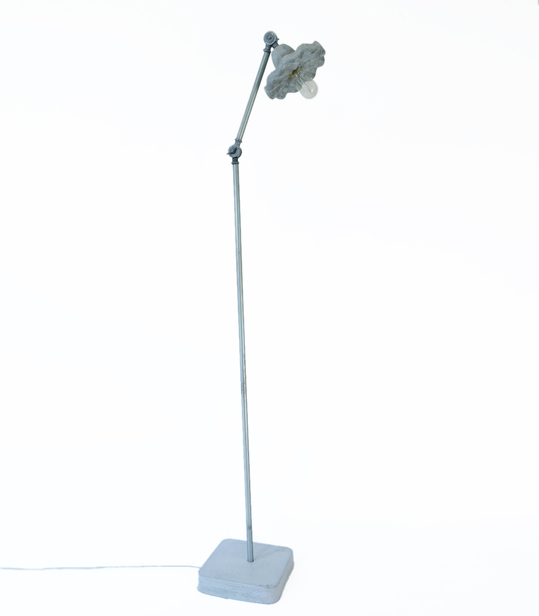 Tutu concrete floor lamp